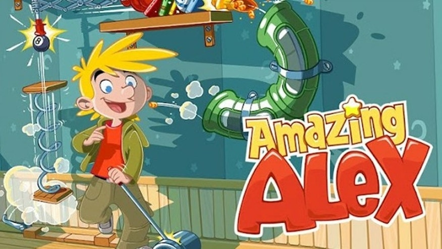 Rovio's latest mobile game Amazing Alex is already losing momentum.