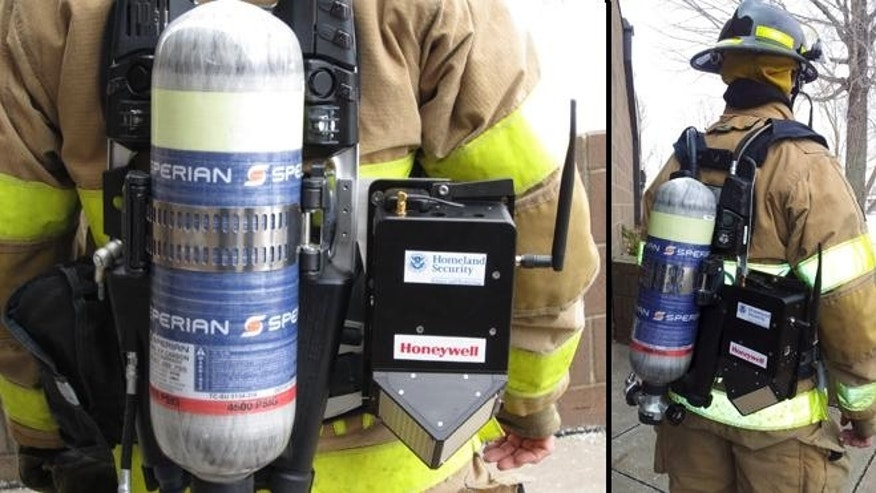 The GLANSER system can track approximately 500 firefighters simultaneously in a 50 story building and is accurate to as little as three feet.