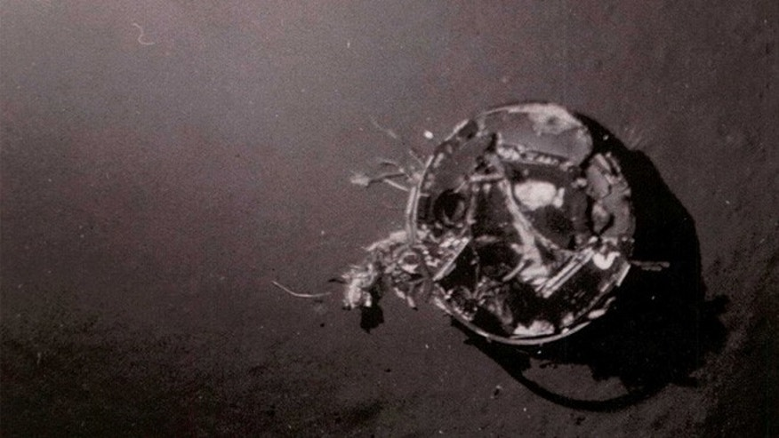 "According to the declassified CIA document, ""On 10 July 1971, the third HEXAGON RV was lost. The parachute failed to reef before fully deploying, and it was snapped off at the swivel. The RV entered ballistically and impacted the water with a force of approximately 2600 g's and settled in 16,000 feet of water."""