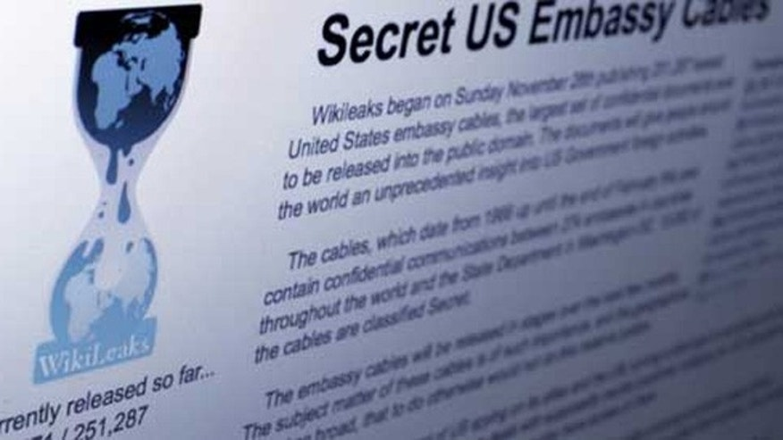 The WikiLeaks site has been hit by denial-of-service attacks.