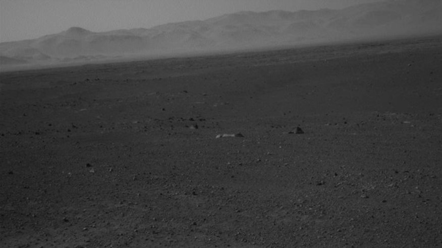 Aug. 22, 2012: NASA's Curiosity rover explores the surface of the dusty red planet.