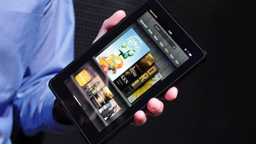 Amazon's Kindle Fire -- the latest in a line of devices from the online shopping giant.