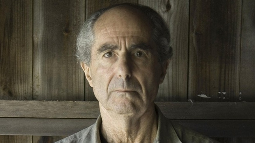 Novelist Philip Roth, seen at his Connecticut home in 2005, discovered an error in Wikipedia entry about one of his books -- but was told he wasn't a credible enough source to correct it.