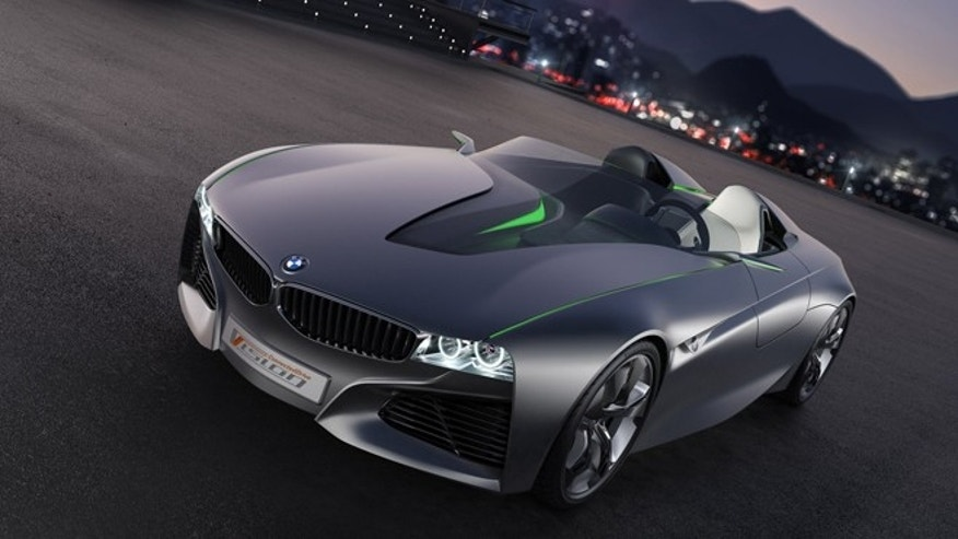 A 2011 concept car from BMW presents the automobile as a fully integrated part of the networked world. But some futuristic seeming technology is already here today.