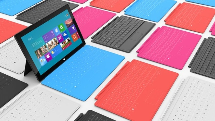 The new Microsoft Surface, the company's answer to the iPad?