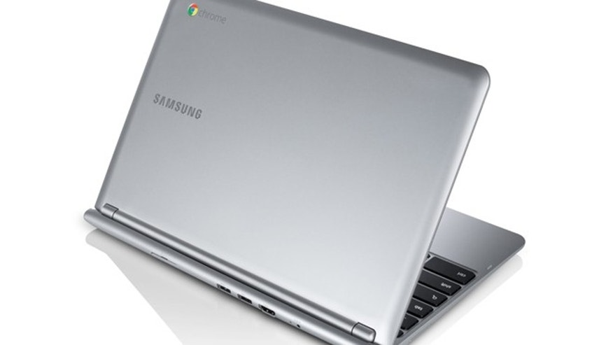 Oct. 18, 2012: Google and Samsung will sell a $249 laptop that runs an operating system revolving around Google's Chrome Web browser.   Like other so-called Chromebooks, this laptop doesn't have a hard drive. It functions like a terminal dependent on an Internet connection to get to information and applications stored in large data centers run by Google Inc. or other technology providers.