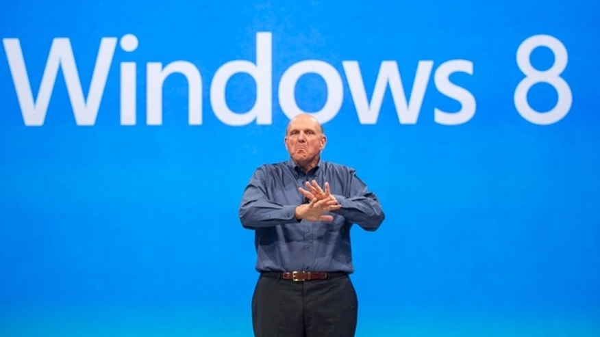 June 18, 2012: Microsoft CEO Steve Ballmer comments on the Windows 8 operating system.