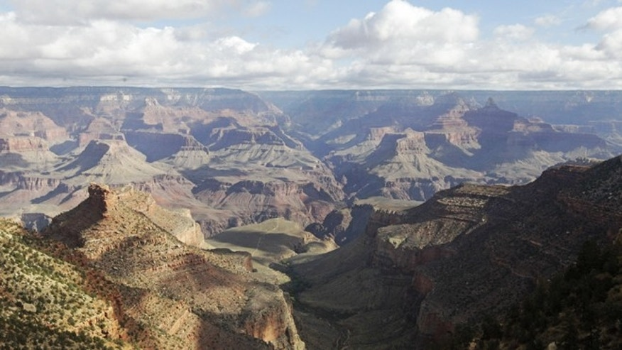 Oct. 22, 2012: The view from the South Rim of the Grand Canyon National Park in Arizona.