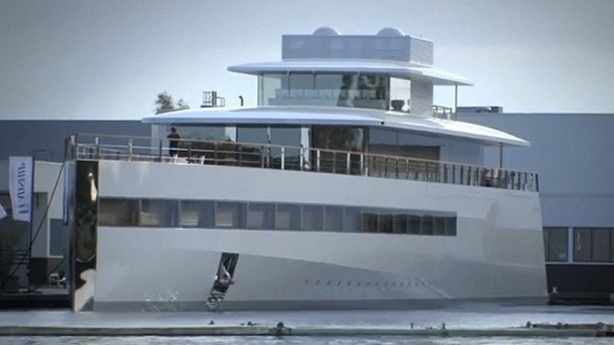 Steve Jobs reportedly spent years designing his super yacht Venus.