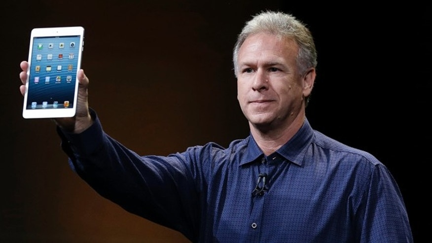 Oct. 23, 2012: Phil Schiller, Apple's senior vice president of worldwide product marketing, introduces the iPad Mini in San Jose, Calif.