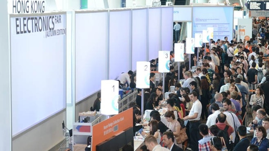 Oct. 16, 2012: More than 97,000 buyers attended the four-day Hong Kong Electronics Fair (Autumn Edition) and concurrent electronicAsia, making it the largest tech trade show in terms of exhibitors.