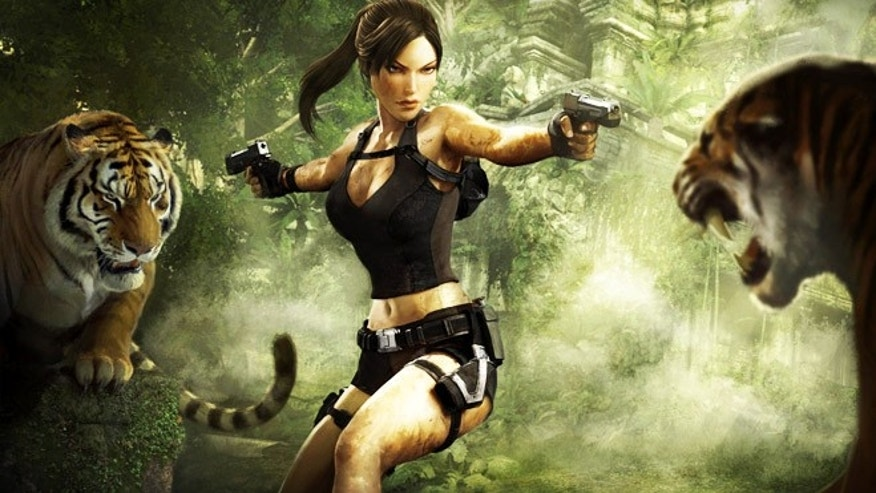 "Lara Croft, iconic star of the popular ""Tomb Raider"" video game franchise. Researchers hope to use video games -- and a gamer's playing technique -- as a form of unique identifier."