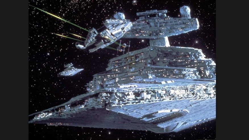 "The Millennium Falcon dodges blasts from a star destroyer in the science fiction classic ""Star Wars."" But the tech powering its deflector shields and invisibility cloaking are more real than you might think."
