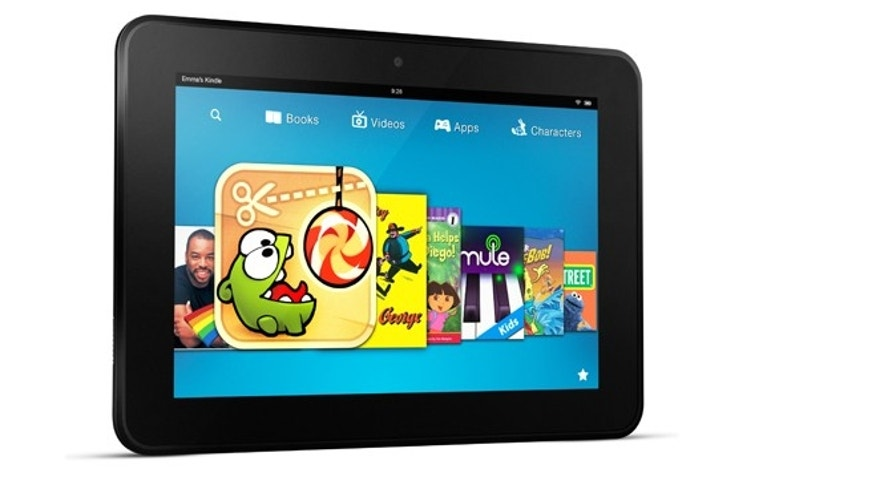The Kindle Fire HD 8.9, a new version of Amazon's tablet sized to compete more directly with the Apple iPad.
