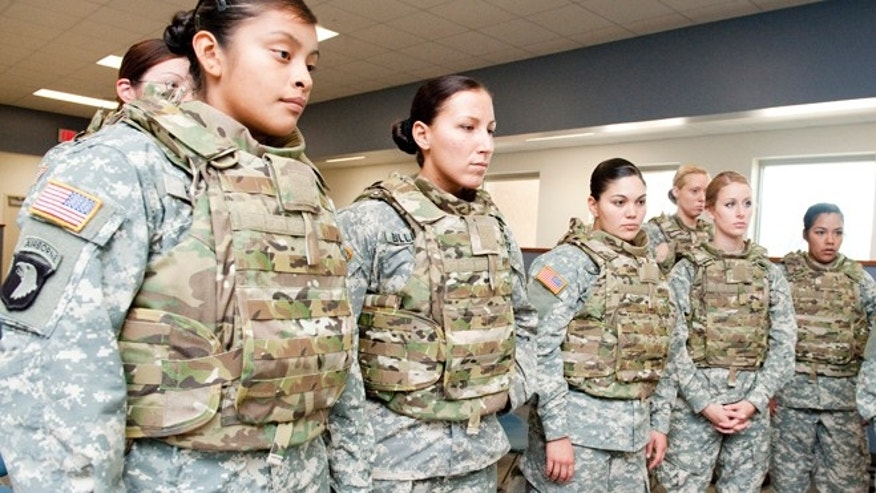 Nov. 6, 2012: Members of the 101st Airborne Division's 1st Brigade will be the first to test the new female body armor in Afghanistan.