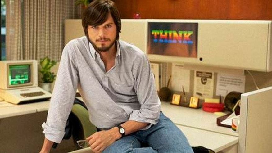 Sundance has released this image of Ashton Kutcher as Steve Jobs.