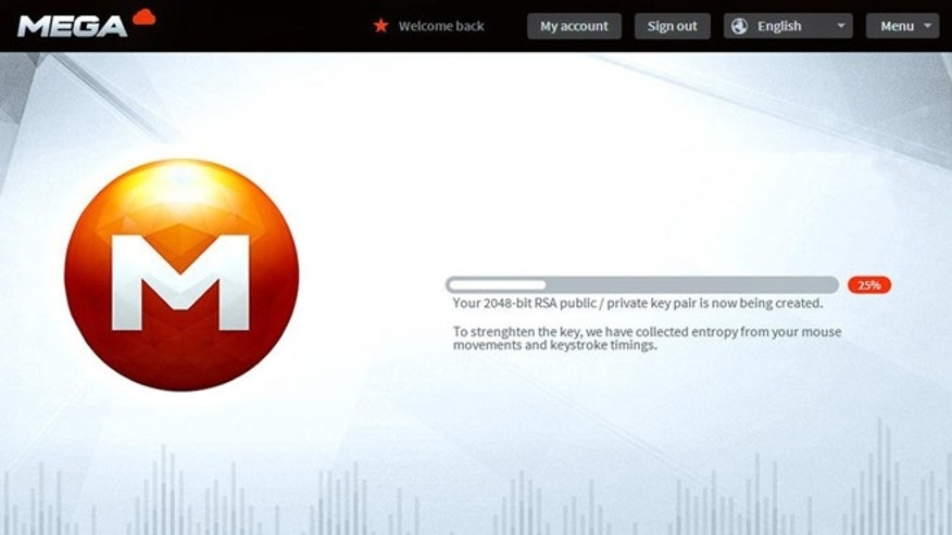 Dec. 7, 2012: New screenshots posted on Twitter by Kim Dotcom reveal the interface to the upcoming Mega service, his planned successor to the shuttered Megaupload.com website.