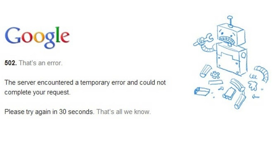 Mayan apocalypse comes early: Gmail suffers brief outage ...