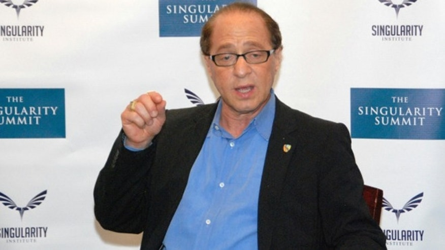 Google's new director of engineering, famed futurist Ray Kurzweil.