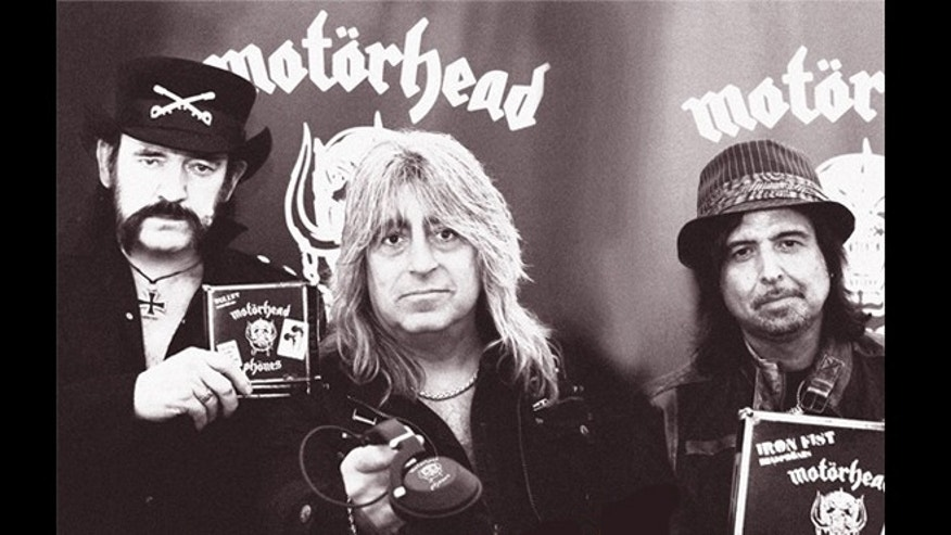 Grammy-award winning rock band Motorhead will unveil the official U.S. launch of Motorheadphones -- all the better to hear their overwhelmingly loud and fast style of rock-n-roll -- at the Consumer Electronics Show.