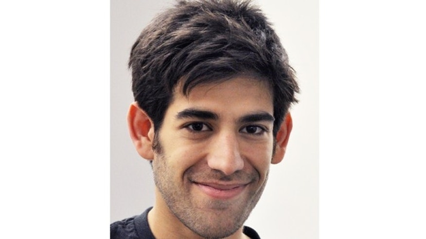 Dec. 8, 2012: Aaron Swartz, in New York. Swartz, a co-founder of Reddit, hanged himself Friday, Jan. 11, 2013, in New York City.