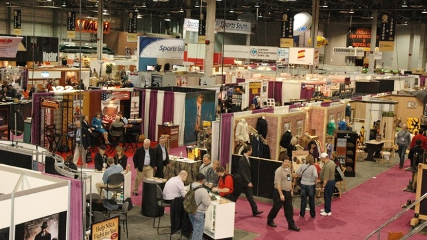 The 2012 SHOT show at the Sands Expo Center in Las Vegas, Nev.
