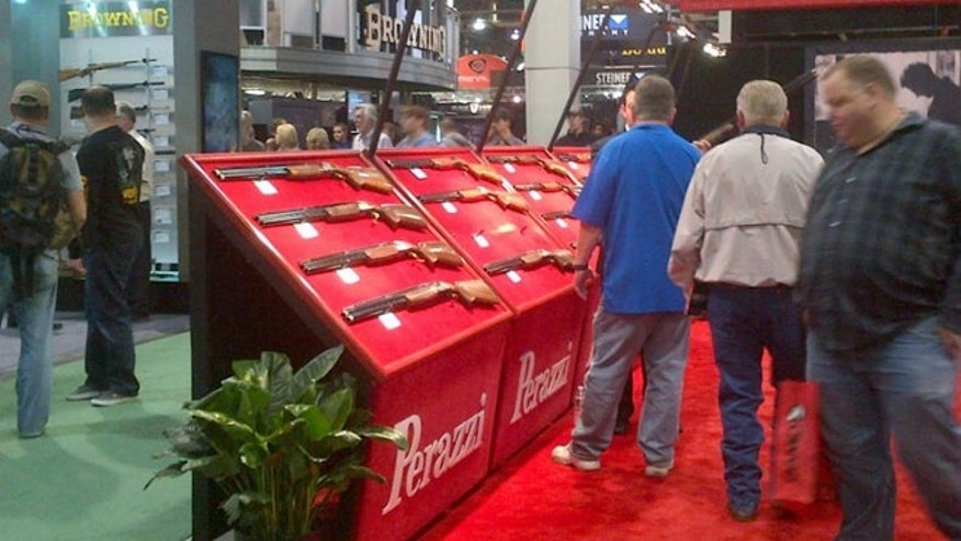 Jan. 17, 2013: Seen at the 2013 SHOT Show, the world's largest gun show, which took place this week in Las Vegas.