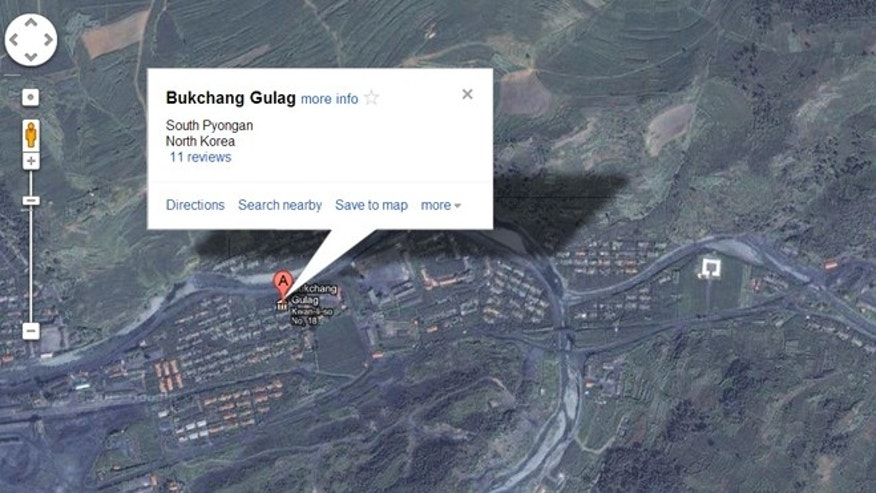 Jan. 29, 2013: Google revised its Maps application to add information for North Korea, including the location of prison camps.
