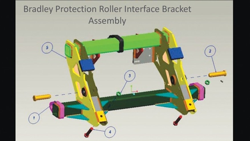 Jan. 30, 2013: An example of fully annotated 3D modeling for computed aided design.