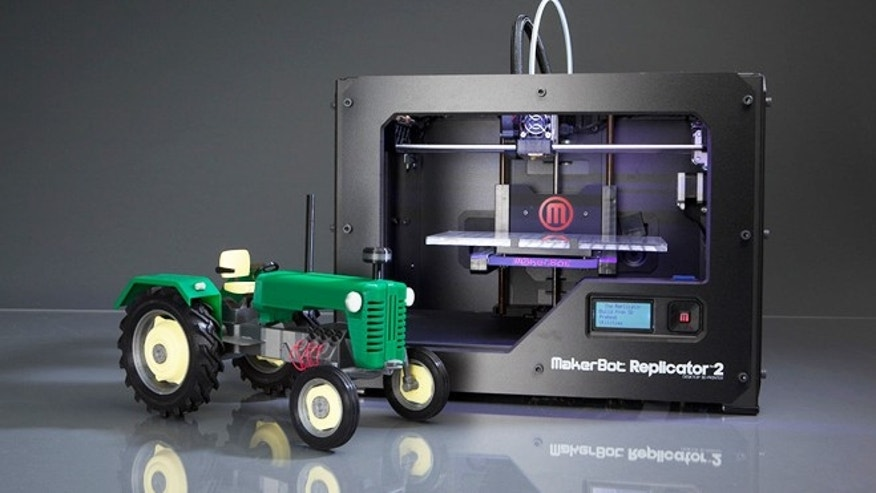 The Makerbot Replicator 2, a $2,200 desktop 3D printer that can create plastic models of anything under the sun.