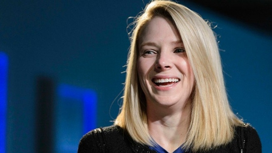 Jan. 25, 2013: Marissa Mayer, Chief Executive Officer of Yahoo!, smiles during the 43rd annual meeting of the World Economic Forum in Davos, Switzerland.