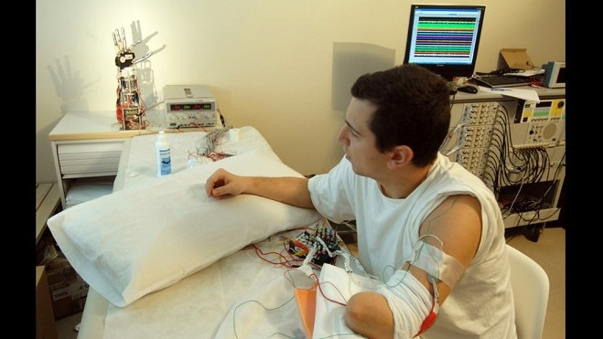 Feb. 18, 2013: A new invention is paving the way for smart prosthetics that connect directly to the nervous system.