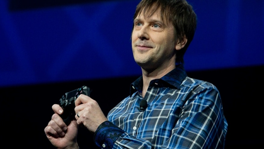 Feb. 20, 2013: Mark Cerny, lead system architect for the Sony Playstation 4 speaks during an event to announce the new video game console in New York.