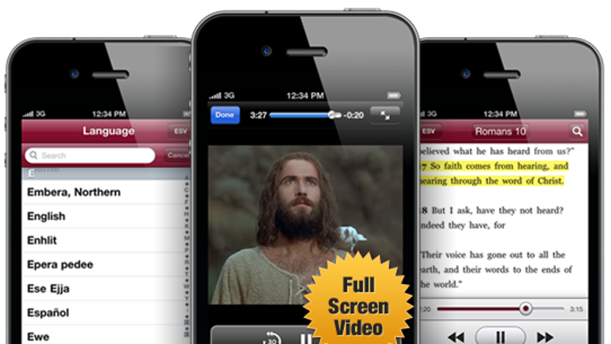 "The ""Jesus Phone"" now features...Jesus."