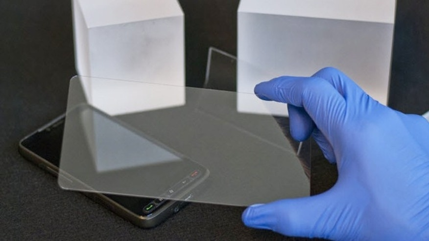 Grown Sapphire touch screen covers are scratch-proof, the manufacturer claims.
