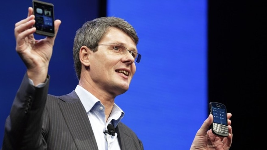 Jan. 30, 2013: Thorsten Heins, CEO of Research In Motion Ltd., introduces the BlackBerry Z10, in New York.
