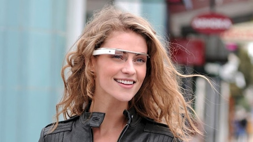 Apr. 4, 2012: Google is testing out its new Android-powered augmented-reality glasses.