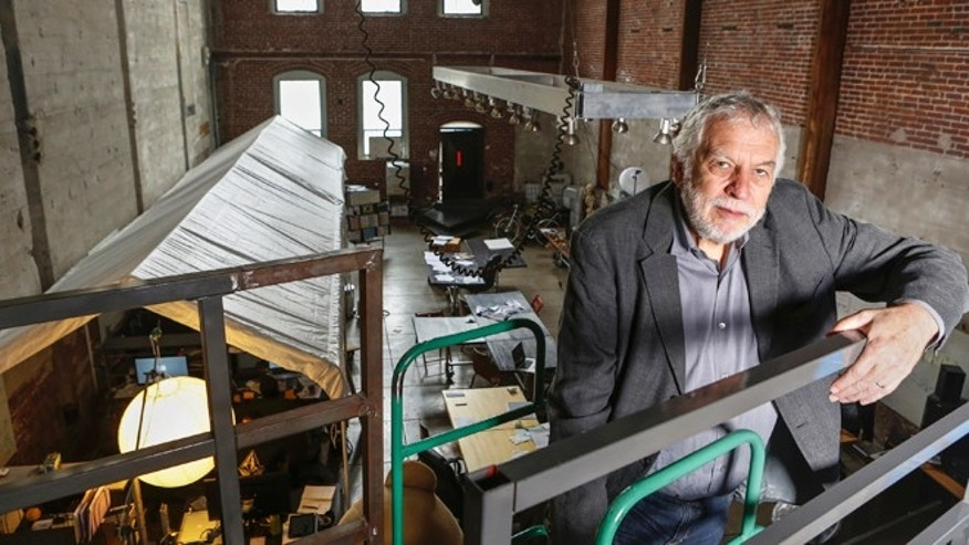 "Mar. 20, 2013, Nolan Bushnell, the founder of Atari poses for a photo at ""Two-Bits-Circus,"" a Los Angeles idea factory focused on software, hardware and machines."