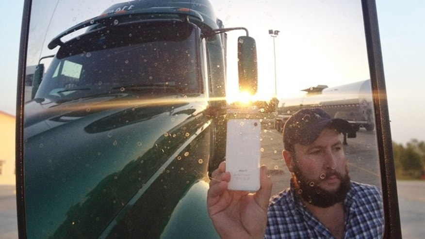 "James Weitze sleeps most of the time in his truck, and has no apartment. But he's watching Netflix enough to keep up on shows like ""Weeds,"" ""30 Rock,"" and Breaking Bad."""