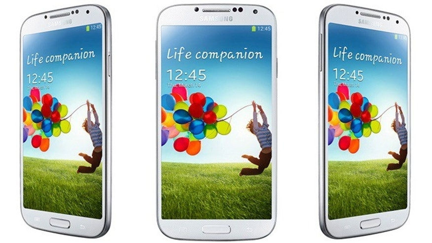 The new Samsung Galaxy S4, the flagship smartphone from the tech powerhouse.