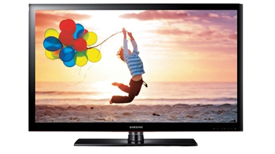 Large screen HDTVs like this 46-inch model from Samsung are far more affordable than ever before.