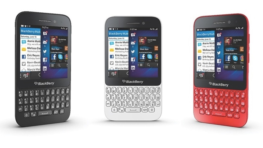 The new Blackberry Q5, a new gadget from the company formerly known as Research in Motion.
