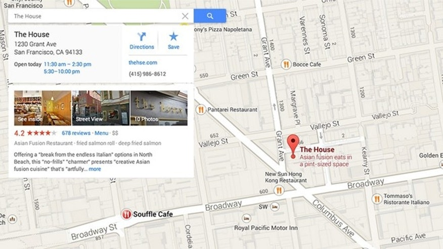 May 15, 2013: A new version of Google Maps, announced at the Google I/O developer conference, brings a revamped and streamlined interface to the tool.