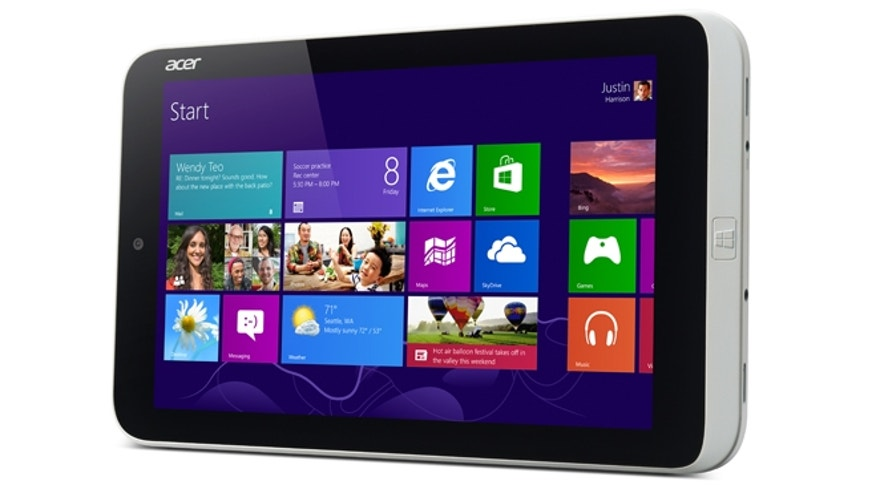 The Acer Iconia W3 Tablet PC, the world's first 8-inch tablet PC with Windows 8. It comes pre-installed with a full version of MS Office at no additional expense.