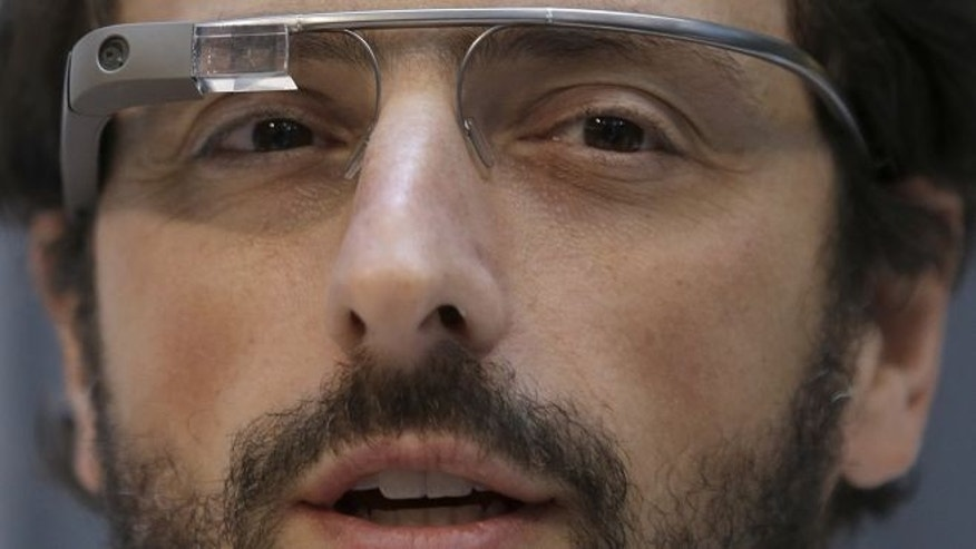 Feb. 20, 2013: Google co-founder Sergey Brin wears Google Glass glasses at an announcement for the Breakthrough Prize in Life Sciences at Genentech Hall on UCSFs Mission Bay campus in San Francisco.