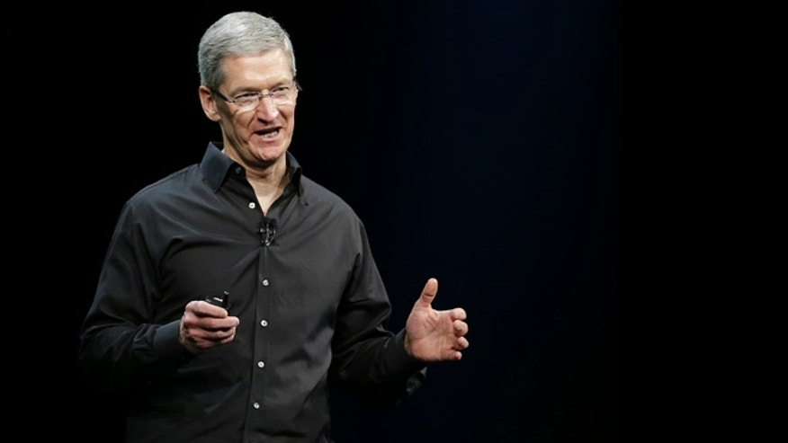 June 10, 2013: Apple CEO Tim Cook speaks during the keynote address of the Apple Worldwide Developers Conference, Monday in San Francisco.