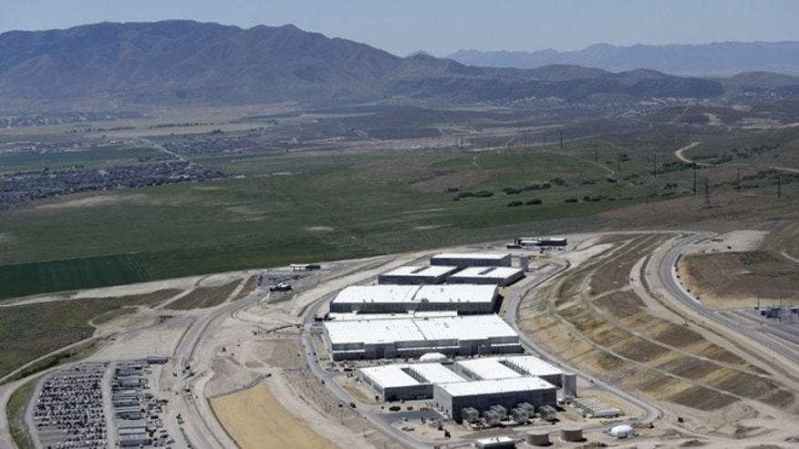 June 6, 2013: An aerial view of the NSA's Utah Data Center in Bluffdale, Utah. The government is secretly collecting the telephone records of millions of U.S. customers of Verizon under a top-secret court order, according to the chairwoman of the Senate Intelligence Committee.