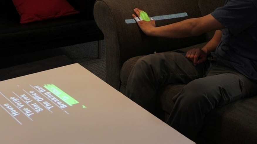 WorldKit turns any surface into a touchscreen.