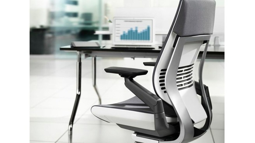 The Steelcase Gesture 360 will sell for $979 when it debuts this fall.