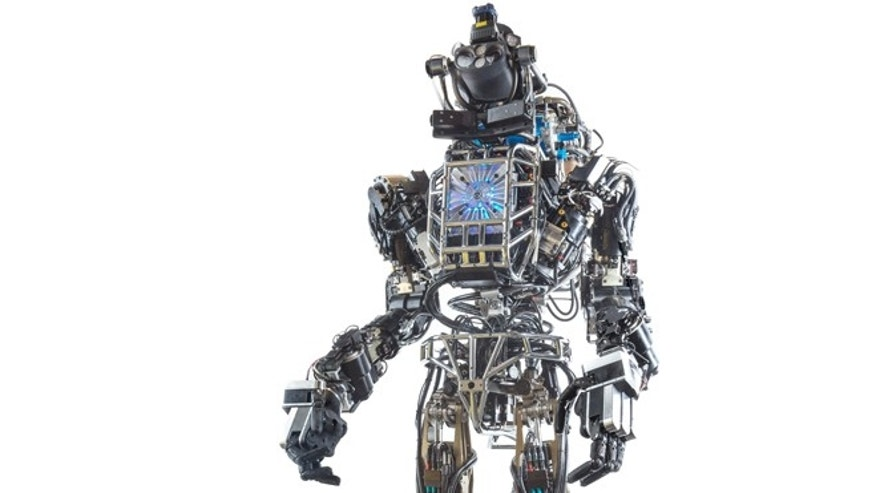ATLAS is a hydraulically powered robot in the form of an adult human. It is capable of a variety of natural movements, including dynamic walking, calisthenics and user-programmed behavior.
